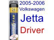 2005-2006 Volkswagen Jetta Wiper Blade (Driver) (Goodyear Wiper Blades-Assurance)