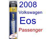 2008 Volkswagen Eos VR6 Wiper Blade (Passenger) (Goodyear Wiper Blades-Assurance)