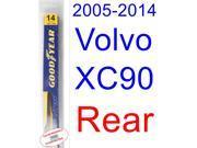 2005-2014 Volvo XC90 Wiper Blade (Rear) (Goodyear Wiper Blades-Assurance) (2006,2007,2008,2009,2010,2011,2012,2013) 9SIA89T36Y3466