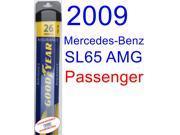 2009 Mercedes-Benz SL65 AMG Black Series Wiper Blade (Passenger) (Goodyear Wiper Blades-Assurance)