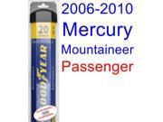 2006-2010 Mercury Mountaineer Wiper Blade (Passenger) (Goodyear Wiper Blades-Assurance) (2007,2008,2009)