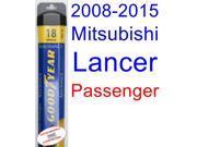2008-2015 Mitsubishi Lancer Wiper Blade (Passenger) (Goodyear Wiper Blades-Assurance) (2009,2010,2011,2012,2013,2014)