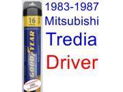 1983-1987 Mitsubishi Tredia Wiper Blade (Driver) (Goodyear Wiper Blades-Assurance) (1984,1985,1986)