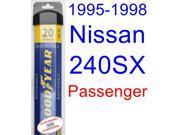 1995-1998 Nissan 240SX Wiper Blade (Passenger) (Goodyear Wiper Blades-Assurance) (1996,1997)
