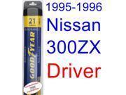 1995-1996 Nissan 300ZX Wiper Blade (Driver) (Goodyear Wiper Blades-Assurance)