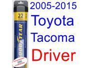 2005-2015 Toyota Tacoma Wiper Blade (Driver) (Goodyear Wiper Blades-Assurance) (2006,2007,2008,2009,2010,2011,2012,2013,2014) 9SIA89T36Y1933