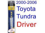 2000-2006 Toyota Tundra Wiper Blade (Driver) (Goodyear Wiper Blades-Assurance) (2001,2002,2003,2004,2005) 9SIA89T36Y1966