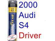 2000 Audi S4 Wiper Blade (Driver) (Goodyear Wiper Blades-Assurance)