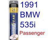 1991 BMW 535i Wiper Blade (Passenger) (Goodyear Wiper Blades-Assurance)