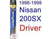 1996-1998 Nissan 200SX Wiper Blade (Driver) (Goodyear Wiper Blades-Hybrid) (1997)