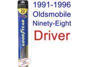 1991-1996 Oldsmobile Ninety-Eight Wiper Blade (Driver) (Goodyear Wiper Blades-Hybrid) (1992,1993,1994,1995)