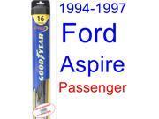 1994-1997 Ford Aspire Wiper Blade (Passenger) (Goodyear Wiper Blades-Hybrid) (1995,1996)