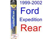 1999-2002 Ford Expedition Wiper Blade (Rear) (Goodyear Wiper Blades-Hybrid) (2000,2001)