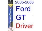 2005-2006 Ford GT Wiper Blade (Driver) (Goodyear Wiper Blades-Hybrid)