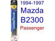 1994-1997 Mazda B2300 Wiper Blade (Passenger) (Goodyear Wiper Blades-Hybrid) (1995,1996)