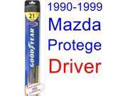 1990-1999 Mazda Protege Wiper Blade (Driver) (Goodyear Wiper Blades-Hybrid) (1991,1992,1993,1994,1995,1996,1997,1998) 9SIA89T36Y7877