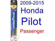 2009-2015 Honda Pilot Wiper Blade (Passenger) (Goodyear Wiper Blades-Hybrid) (2010,2011,2012,2013,2014)