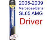 2005-2009 Mercedes-Benz SL65 AMG Base Wiper Blade (Driver) (Goodyear Wiper Blades-Hybrid) (2006,2007,2008)