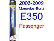 2006-2009 Mercedes-Benz E350 Wiper Blade (Passenger) (Goodyear Wiper Blades-Hybrid) (2007,2008)