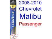 2008-2010 Chevrolet Malibu Hybrid Wiper Blade (Passenger) (Goodyear Wiper Blades-Hybrid) (2009)