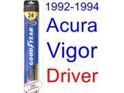 1992-1994 Acura Vigor Wiper Blade (Driver) (Goodyear Wiper Blades-Hybrid) (1993)