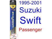 1995-2001 Suzuki Swift Wiper Blade (Passenger) (Goodyear Wiper Blades-Hybrid) (1996,1997,1998,1999,2000)