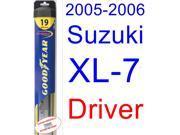 2005-2006 Suzuki XL-7 Wiper Blade (Driver) (Goodyear Wiper Blades-Hybrid)
