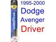 1995-2000 Dodge Avenger Wiper Blade (Driver) (Goodyear Wiper Blades-Hybrid) (1996,1997,1998,1999) 9SIA89T36Y8564