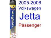 2005-2006 Volkswagen Jetta Wiper Blade (Passenger) (Goodyear Wiper Blades-Hybrid)