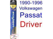 1990-1996 Volkswagen Passat Wiper Blade (Driver) (Goodyear Wiper Blades-Hybrid) (1991,1992,1993,1994,1995)