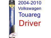 2004-2010 Volkswagen Touareg Wiper Blade (Driver) (Goodyear Wiper Blades-Hybrid) (2005,2006,2007,2008,2009)