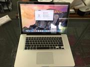Apple Macbook PRO 15in Intel i7 Core (8gb RAM, 500gb HD, OS 10.10, DVD-R) 1 YEAR WARRANTY
