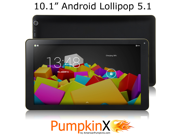 "10.1"" Android Lollipop 5.1 [Octa Core] Tablet PC, 1GB RAM, HD Screen, Dual Cameras, Dual Speakers, HDMI, Wifi, Bluetooth, Google Play"