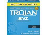 Trojan Con-dom ENZ Lubricated, 36 Count 9SIA8AF4NC1089