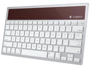 Logitech Wireless Solar Keyboard K760 for Mac/iPad/iPhone-White