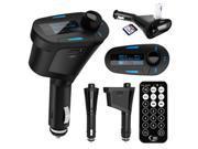 Car Kit MP3 Player Wireless FM Transmitter Modulator LCD USB SD MMC W/ Remote