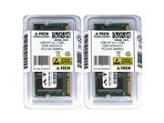 Atech 2GB Kit Lot 2x 1GB DDR Laptop PC2100 2100 266 266mhz 184-pin Memory Ram