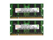 New Hynix 2GB 2X 1GB DDR2 5300 667 MHz PC2-5300 200pin Laptop SODIMM Memory RAM