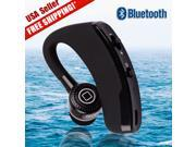 Black Wireless Bluetooth 4.1 Stereo Headset Sport Earphone Headphone Universal