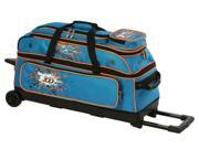Columbia Team C300 3 Ball Roller Bowling Bag Blue