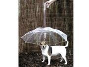 TinkSky Novelty Pet Dog Umbrella with Chain for Rainy Days