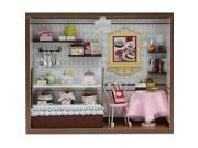 TinkSky DIY Wooden Dolls house Miniature Kit Light - Cake Shop Kids Toy Decoration 9SIA8CG4UZ3892
