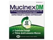 Dm Expectorant And Cough Suppressant, 40 Tablets/box By: Mucinex