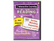 Interactive Learning Software: Reading Fiction And Nonfiction, Grade 4 By: Teacher Created Resources