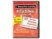Interactive Learning Software: Reading Fiction And Nonfiction, Grade 3 By: Teacher Created Resources