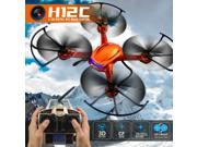 JJRC H12C 4ch 6-Axis gyro Headless Mode One Key Return Rc Quadcopter W/5Mp Camera  (JJRC H12C Only, Orange )