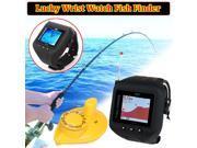 Lucky Wrist Watch Fish Finder Wireless Sonar Sensor 45m 150ft Depth Fishfinder Clock Mode Wireless Sonar Fish Finder Underwater Fishing Camera