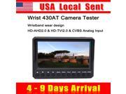 { Sent from USA } At430t 4.3 inch TFT LCD Hd TVI CVBS CCTV Camera Cam Test Monitor Tester NTSC PAL