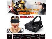 "[ Ship from USA !!! ] HMD-518 80""""1080P 3D Video Glasses VR Virtual Reality HD Private Mobile Cinema F1"" 9SIA8DE5RB0431"