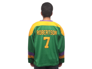 Dwayne Robertson 7 Ducks Hockey Jersey Ships Early November Adult Small